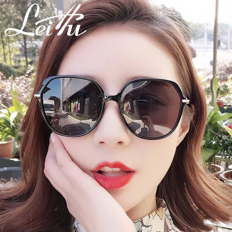 太阳镜女潮韩版ins网红偏光墨镜圆脸大脸显瘦眼镜 可配近视有度数
