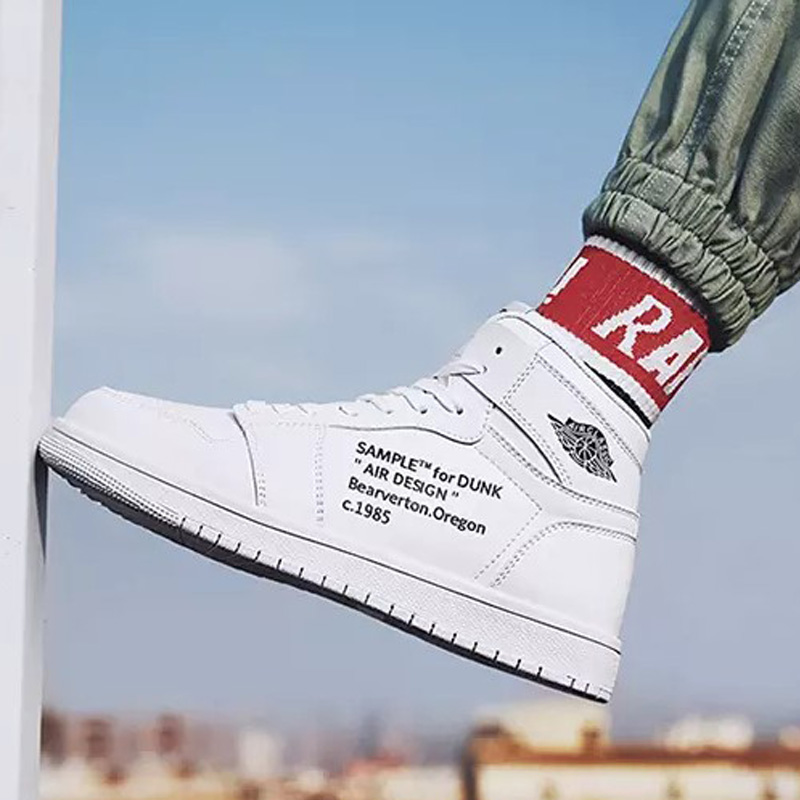 Air force No.1 aj1 high top popular casual shoes fashion oversize 47, 48 mens inner height shoes