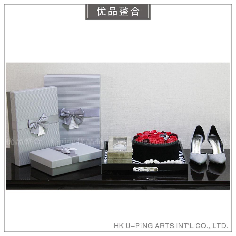 样板房热销简约现代软装家居衣帽间配件礼品盒首饰摆件组合ZH1291