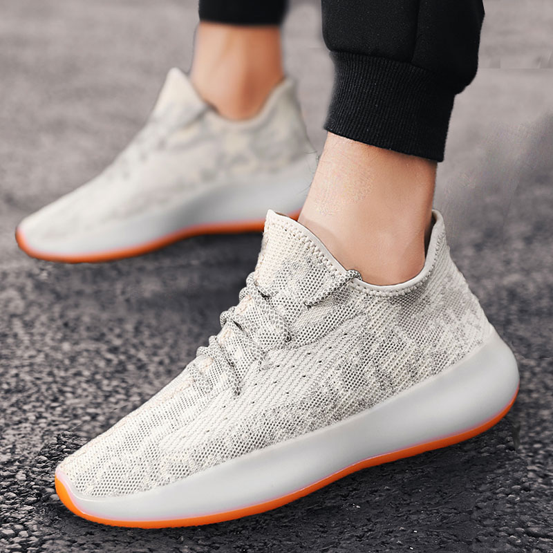 Mesh air permeable fly woven coconut shoes mens 350 all star 2020 new summer soft sole sports leisure tennis shoes