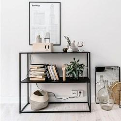 客厅沙发边置物架多功能简易落地边柜靠墙扶手柜沙发后多层收纳架