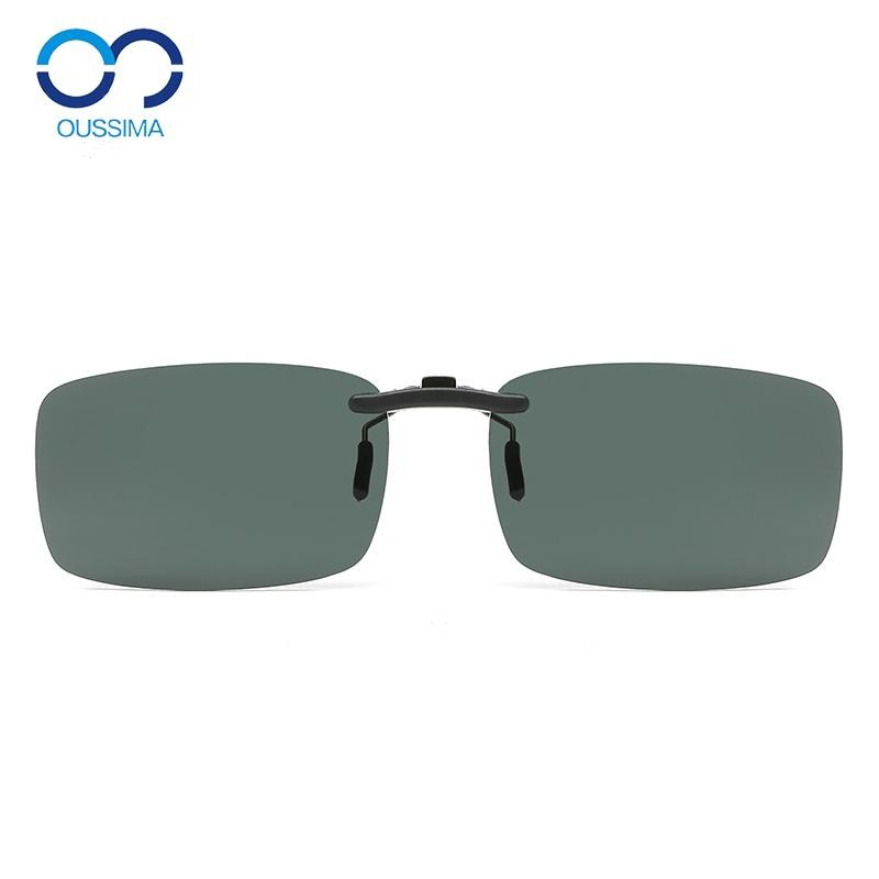 墨镜片式近视开车成人夹片太阳镜使用评测