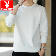 Playboy 2020 spring and autumn new long sleeve t-shirt men's Korean Trend round neck loose spring bottomed sweater