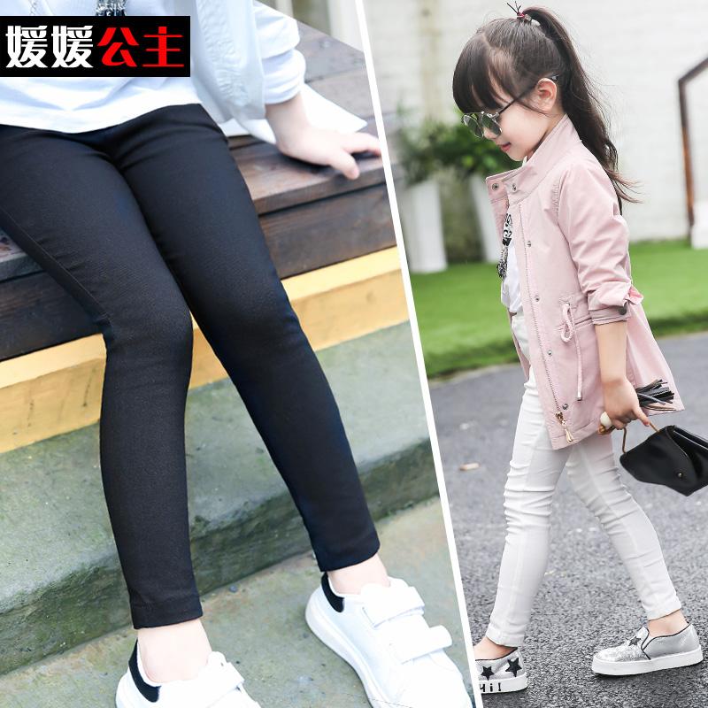 女童兒童修身大童鉛筆褲