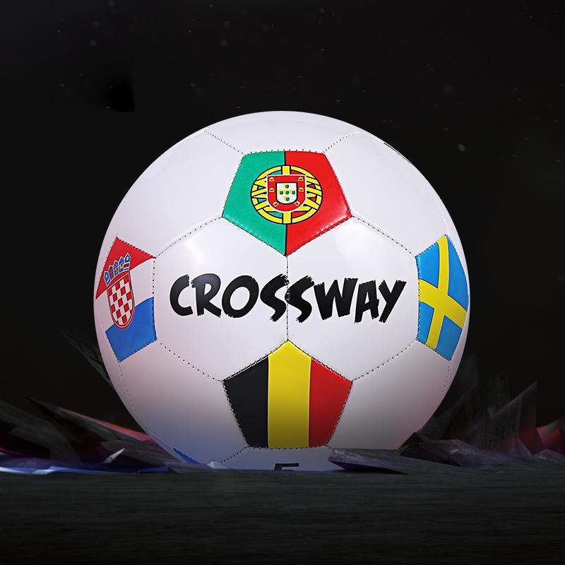 克洛斯威正品专业足球5号成人小学生防爆训练青少年中考比赛用球