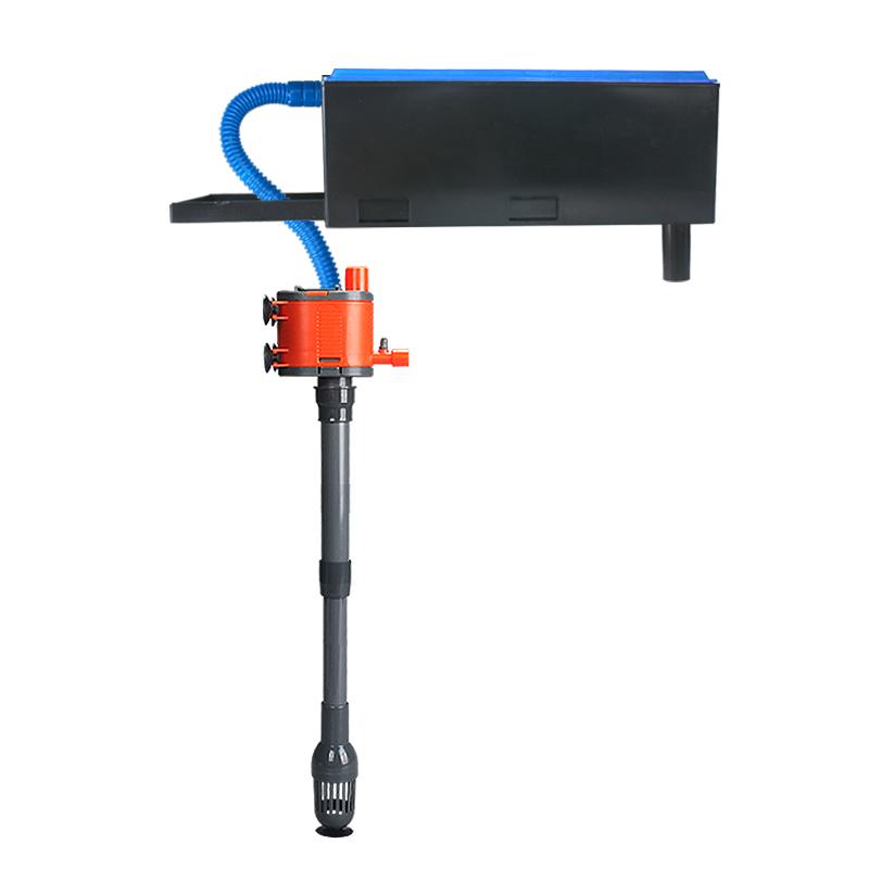 魚缸水泵水族箱三合一內置抽水循環泵潛水泵增氧泵靜音潛水泵