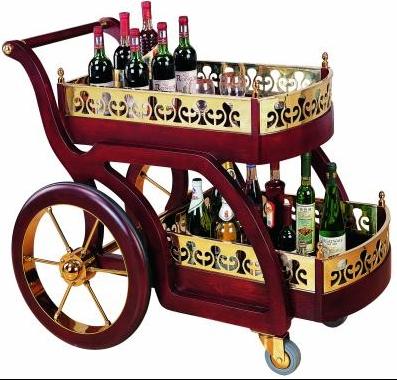 Классическая стиль ликер водяное колесо от себя автомобиль роскошный деревянный десерт автомобиль бар отдавать посыпать автомобиль 4S чай автомобиль вагон-магазин десерт автомобиль