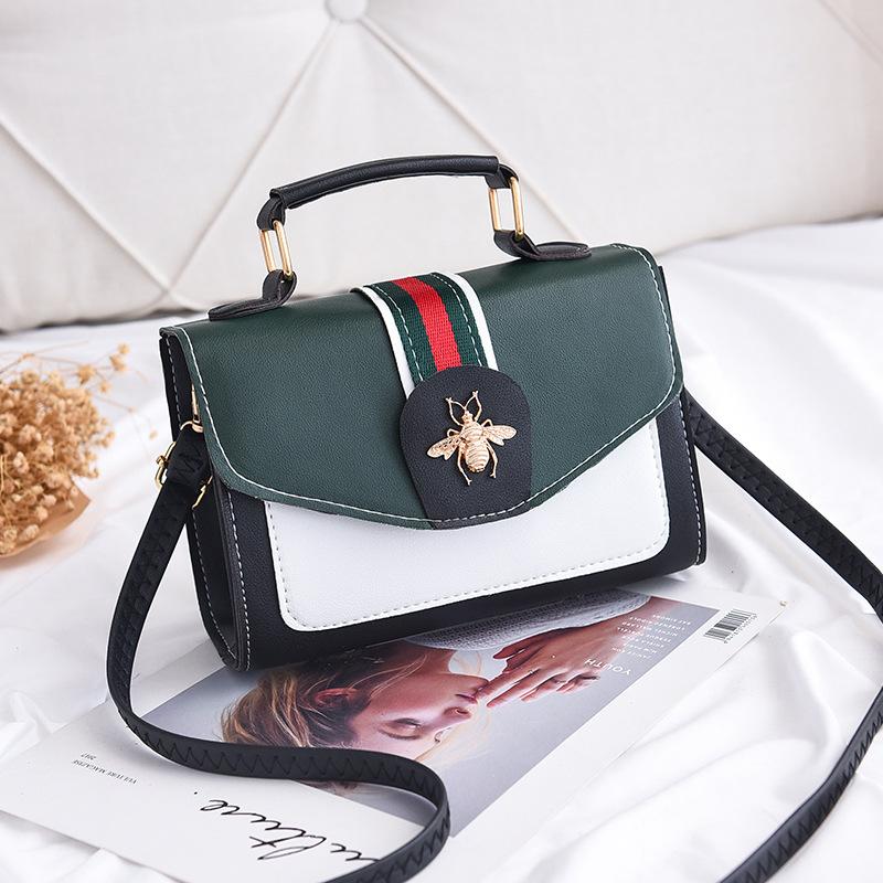 淑女芭莎女包2019新款包包女定型甜美时尚运动女包斜挎单肩手提包