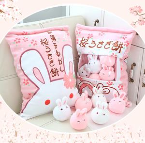 兔子毛绒玩具公仔可爱陪你睡觉公主抱枕床上布偶洋娃娃小白兔女孩
