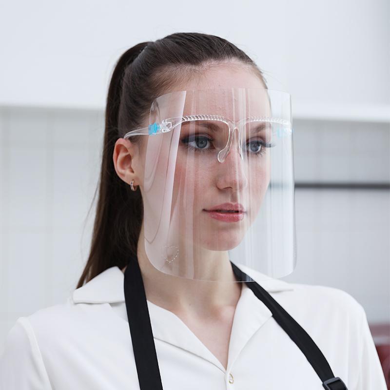 厨房炒菜防油烟防油溅面罩女士全脸部防护遮面具做饭面部护脸神器