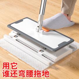 静电除尘纸拖把一次性纸家用加厚免手洗平板拖布地板懒人擦地神器