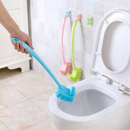2个装卫生间加厚加长柄厕所刷