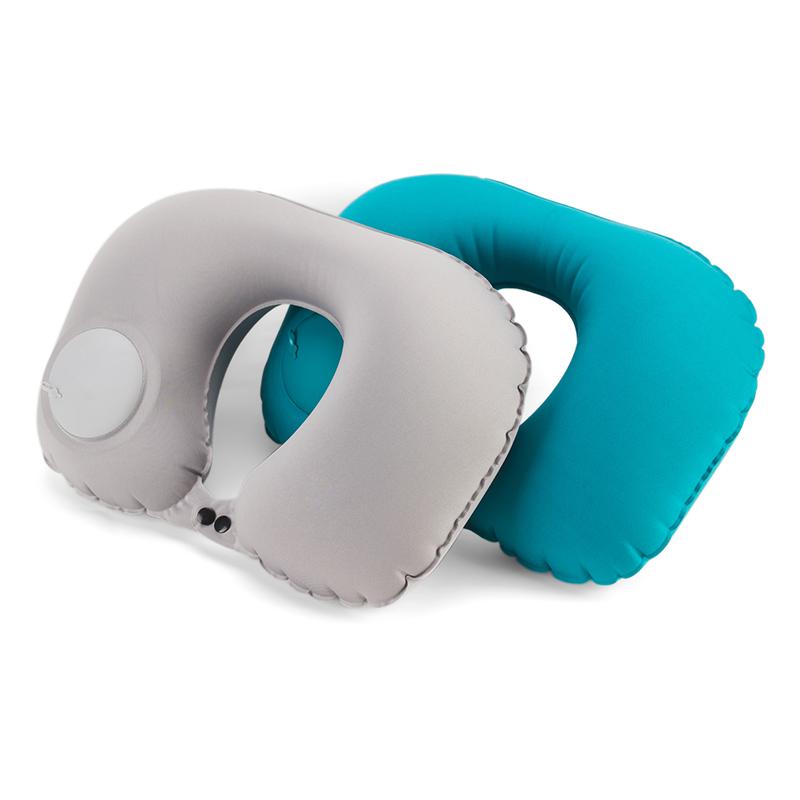 19.90元包邮u型枕脖子护颈枕颈椎枕旅行U形枕午休睡枕枕头按压式充气便携头枕
