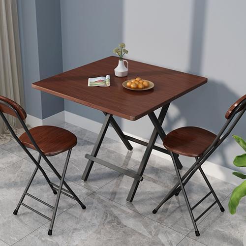 五折促销折叠桌家用便携式户外折叠宿舍餐桌