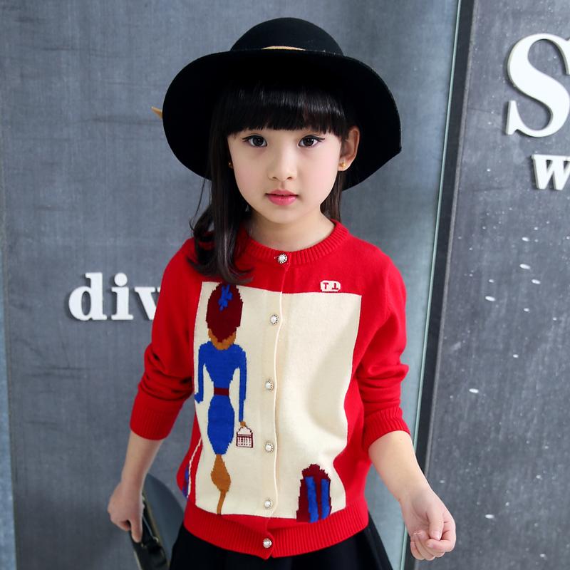 女童兒童女孩中大童毛衣