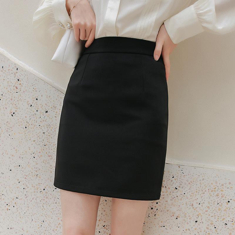 春夏职业裙半身裙女一步裙包臀短裙包裙西装裙工作裙西裙正装裙子