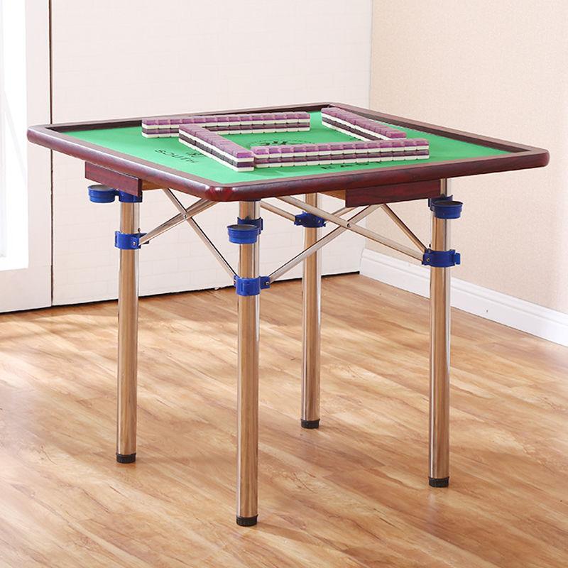 麻将桌棋盘桌折叠桌餐桌手搓型便捷式宿舍两用手动多用雀台桌直销
