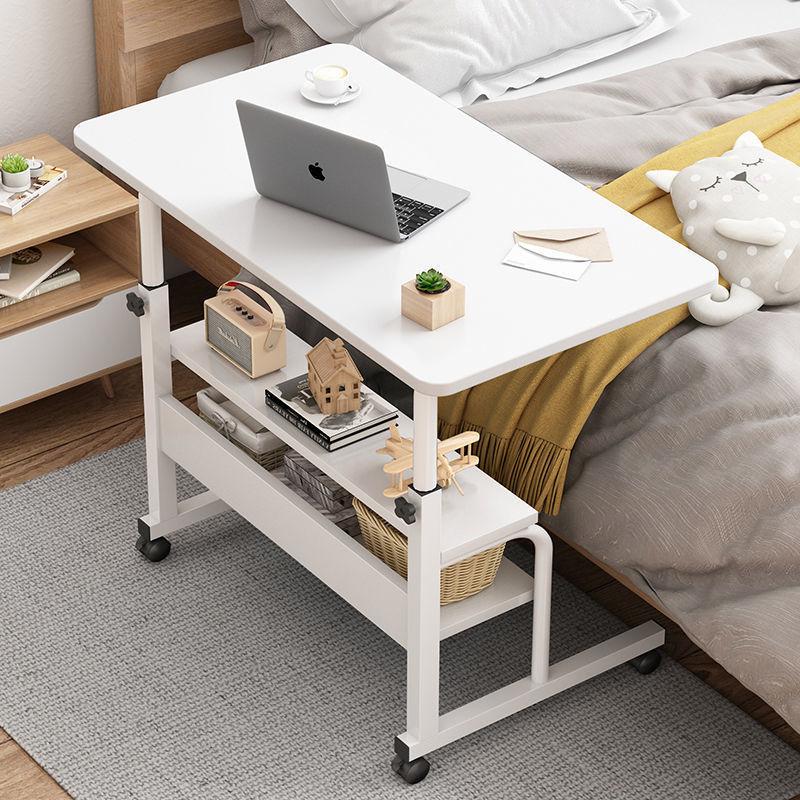简易桌子宿舍笔记本电脑桌床上学习桌简约书桌可移动床边桌卧室