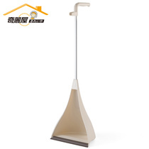 Qili House dustpan plastic dustpan pinch garbage bucket dustpan household dustpan dustpan single garbage Shovel