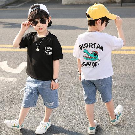 童装男童夏季套装2020新款短袖夏装
