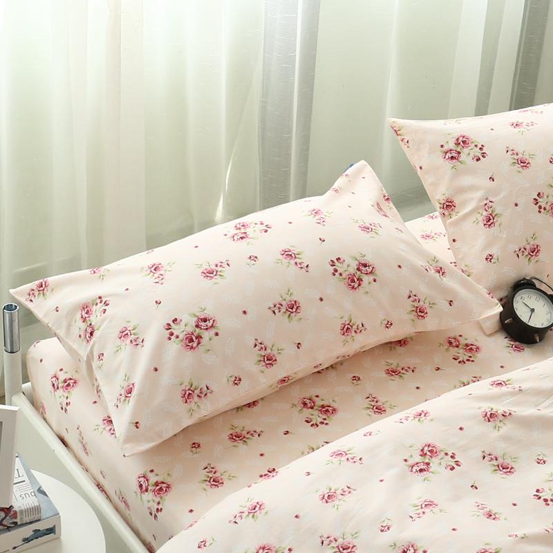 枕套 包邮 一对 纯棉田园小碎花学生枕头套一只成人枕芯套全棉布