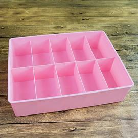 内裤袜子塑料收纳盒马卡龙色家具用品防尘韩式抽屉储物整理盒