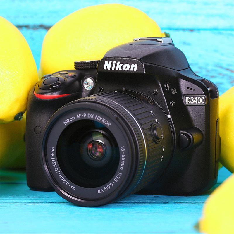 国行联保 Nikon/尼康D3400 18-55套机入门级高清数码家用单反相机
