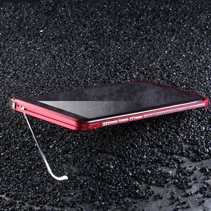 Lightweight Kickstand: IMatch Slim Light Aluminum Metal Shockproof Bumper Case