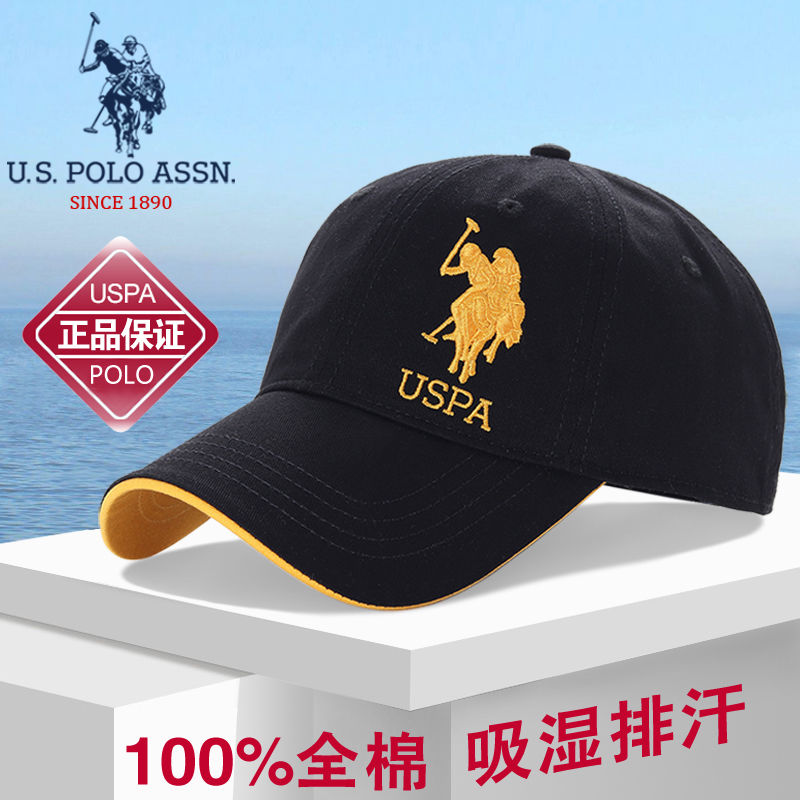 American POLO hat mens summer sunscreen cap cap cap womens casual baseball cap