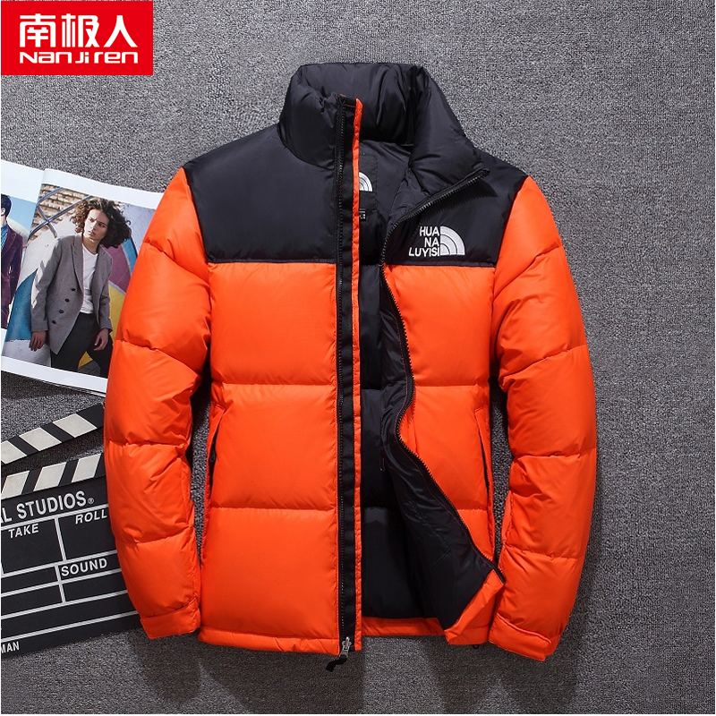 Antarctica down jacket mens short 2020 new mens Korean version of casual thickening warm keeping trend fashion coat for men