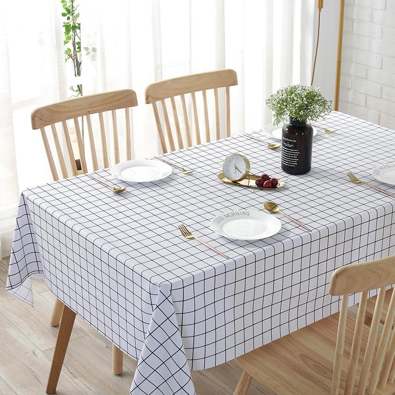 防水防油免洗防烫北欧ins餐桌布