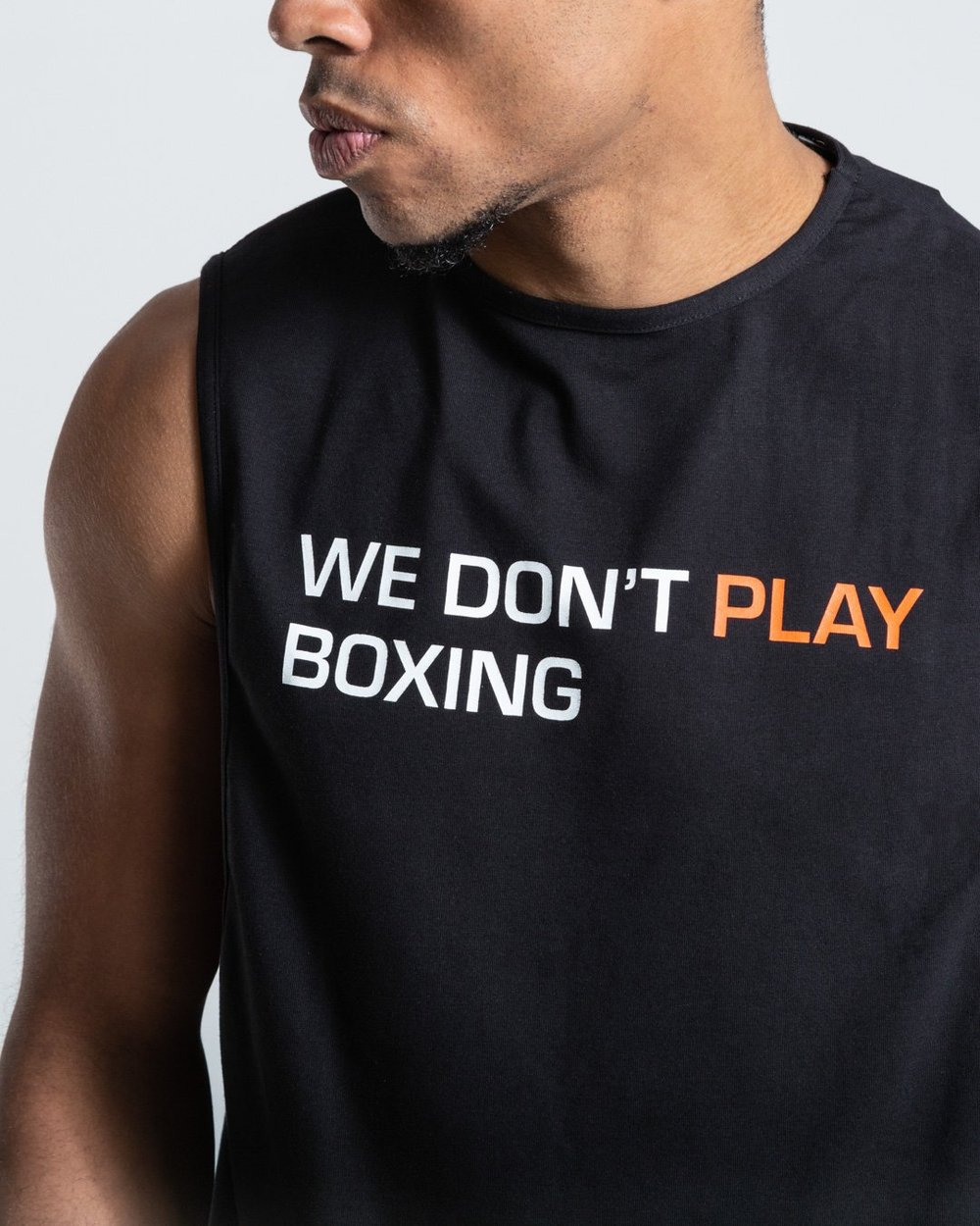 【Treasure Zone】BOXRAW WE DON'T PLAY BOXING TANK 拳击背心