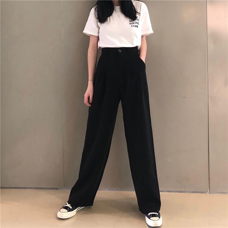 11月07日最新优惠原久美子实韩风学院风少女阔腿裤