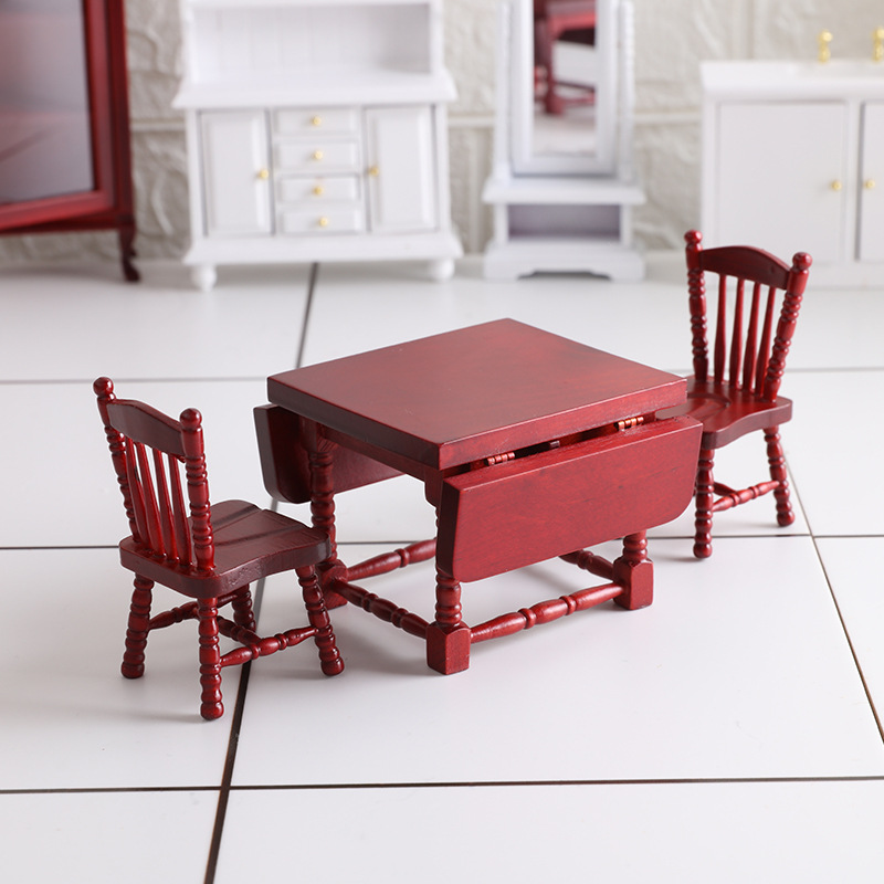Ob11 Baby House Furniture miniature food and play American European table chair model accessories GSC BJD 12 points