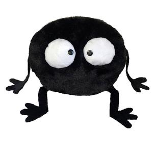 【搞怪煤球】ins创意搞怪网红小黑包