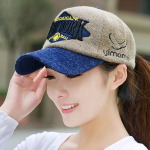 冬季韩版女士毛线帽子针织鸭舌帽百搭棒球帽男士潮韩国秋冬天日系