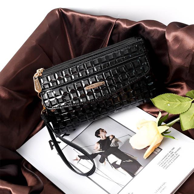女包包 单肩斜跨手拿包女士斜挎包手提零钱小方包手机包长款手袋