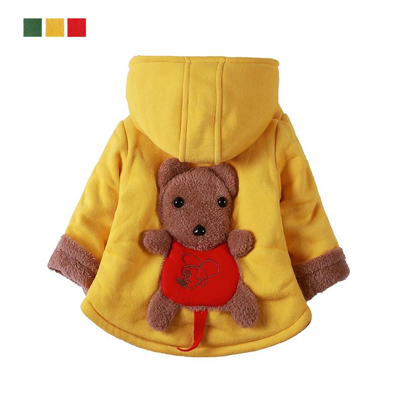 男童女童嬰兒加厚寶寶棉襖