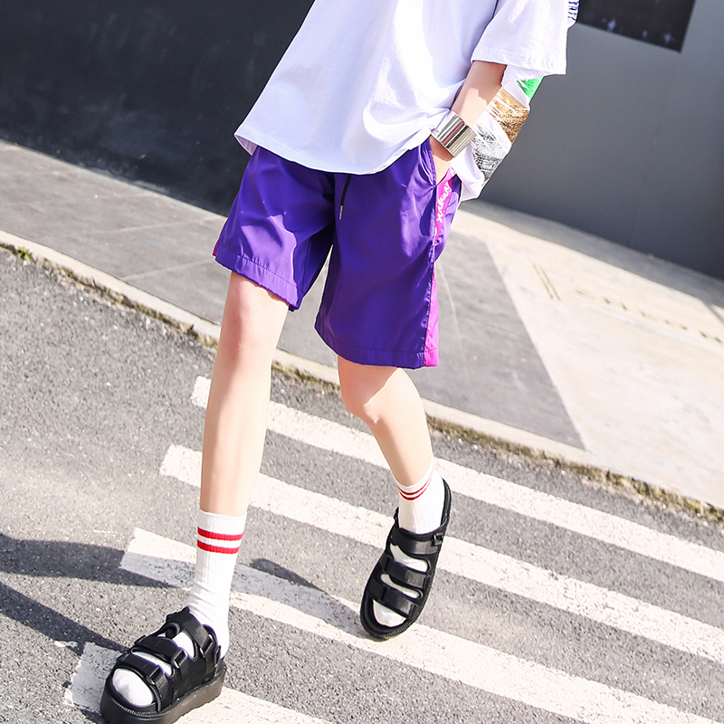 宽松2019夏季新款休闲洋气显瘦短裤