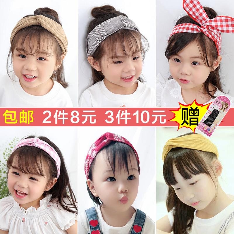 韩国儿童发带公主小女孩百搭发箍宝宝可爱头箍潮妞婴儿女童发饰品