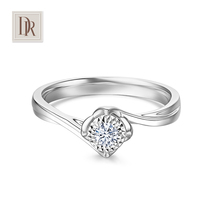 Dr. Darryring proposal Wedding diamond ring genuine DR1 carat diamond ring female ring