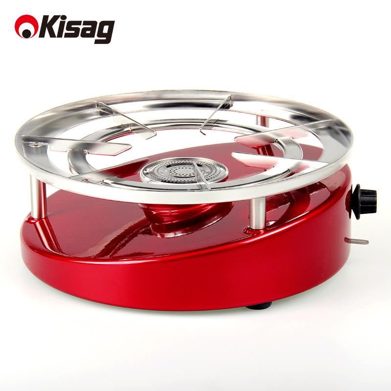 Швейцария Kisag плитка клан печь влюбленный мистер в этом же моделье портативный газ печь один блюдо печь собирать еда на открытом воздухе