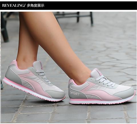 2021春夏经典款跑步运动女子透气网布旅游慢跑休闲阿甘防滑椰子鞋
