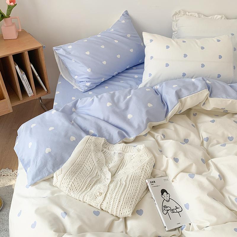 北欧风纯棉床上用品100 ins 3被套质量如何