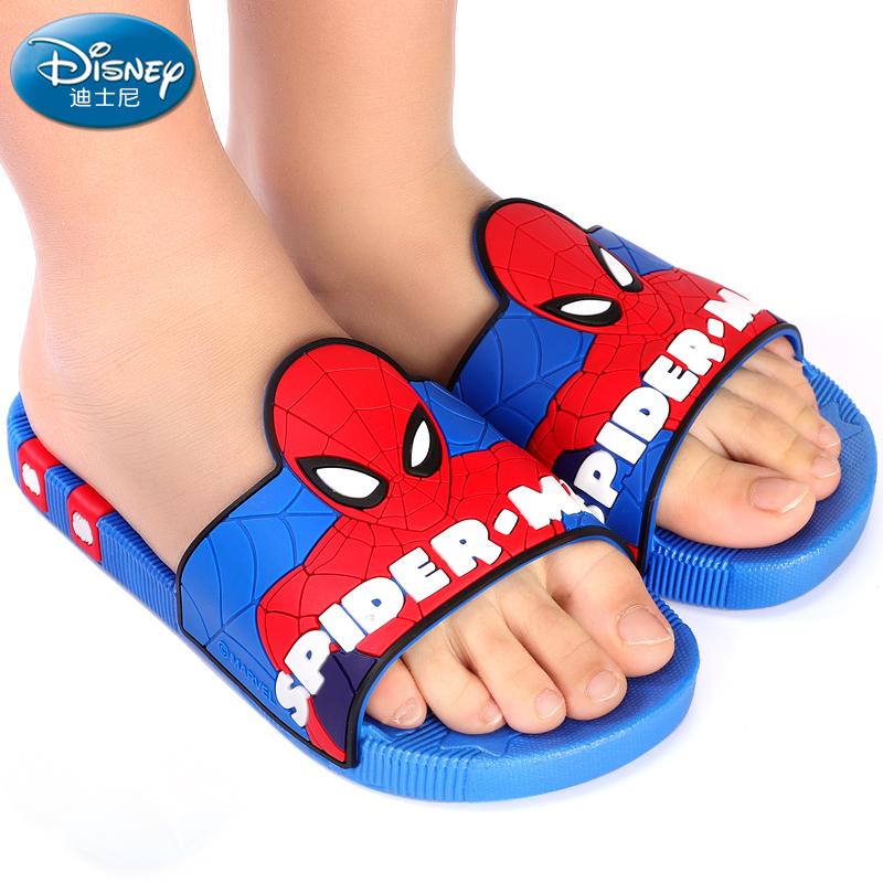 儿童拖鞋夏季男童蜘蛛侠室内防滑小童中大童小孩凉拖鞋男孩家用