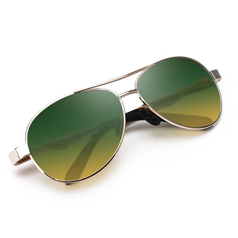 New genuine Polarized Sunglasses for pilots day and night, toad glasses and driver glasses