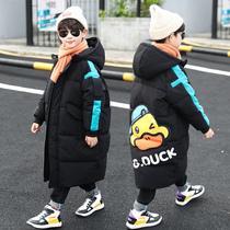 童装男童冬装羽绒服加厚2020新款潮洋气棉衣服中大儿童棉袄长款潮