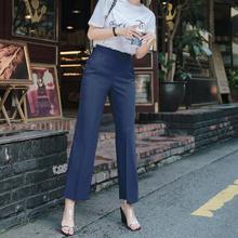 スーツのズボンテーパーパンツ女性のストッキングのファッションハイエンドの韓国のカジュアルスリムだった薄い足のタバコのパンツ春出荷