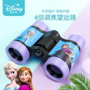 迪士尼望远镜儿童女孩幼儿园放大镜