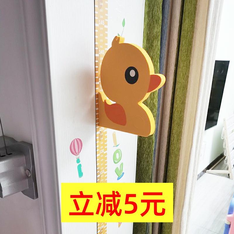 3d立体儿童房宝宝身高贴卡通量身高贴纸测量仪尺墙贴神器可移除